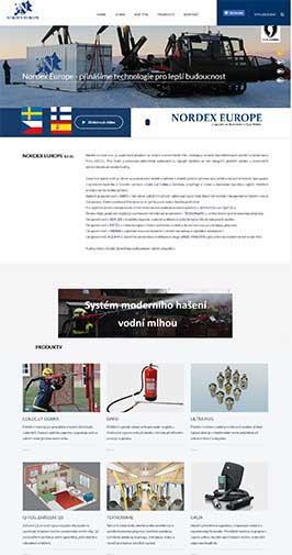 Nordex Europe Praha - přední dovozce a systémů ze Skandinávie a Španělska