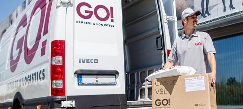 GO!-Ambient-Přeprava zásilek při pokojové teplotě