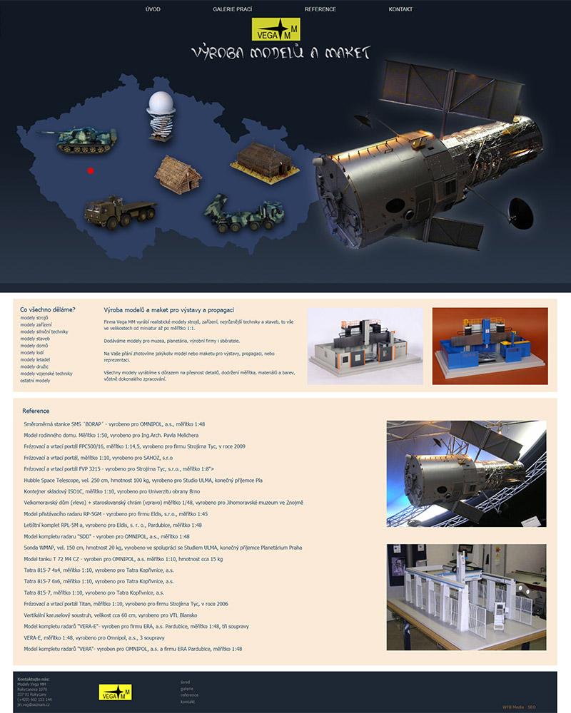 Výroba modelů Veg MM