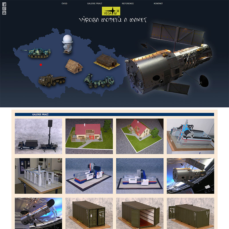 Výroba modelů a maket pro výstavy a propagaci