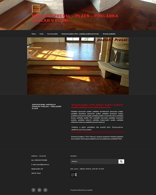 Zhotovení podlahy v Plzni