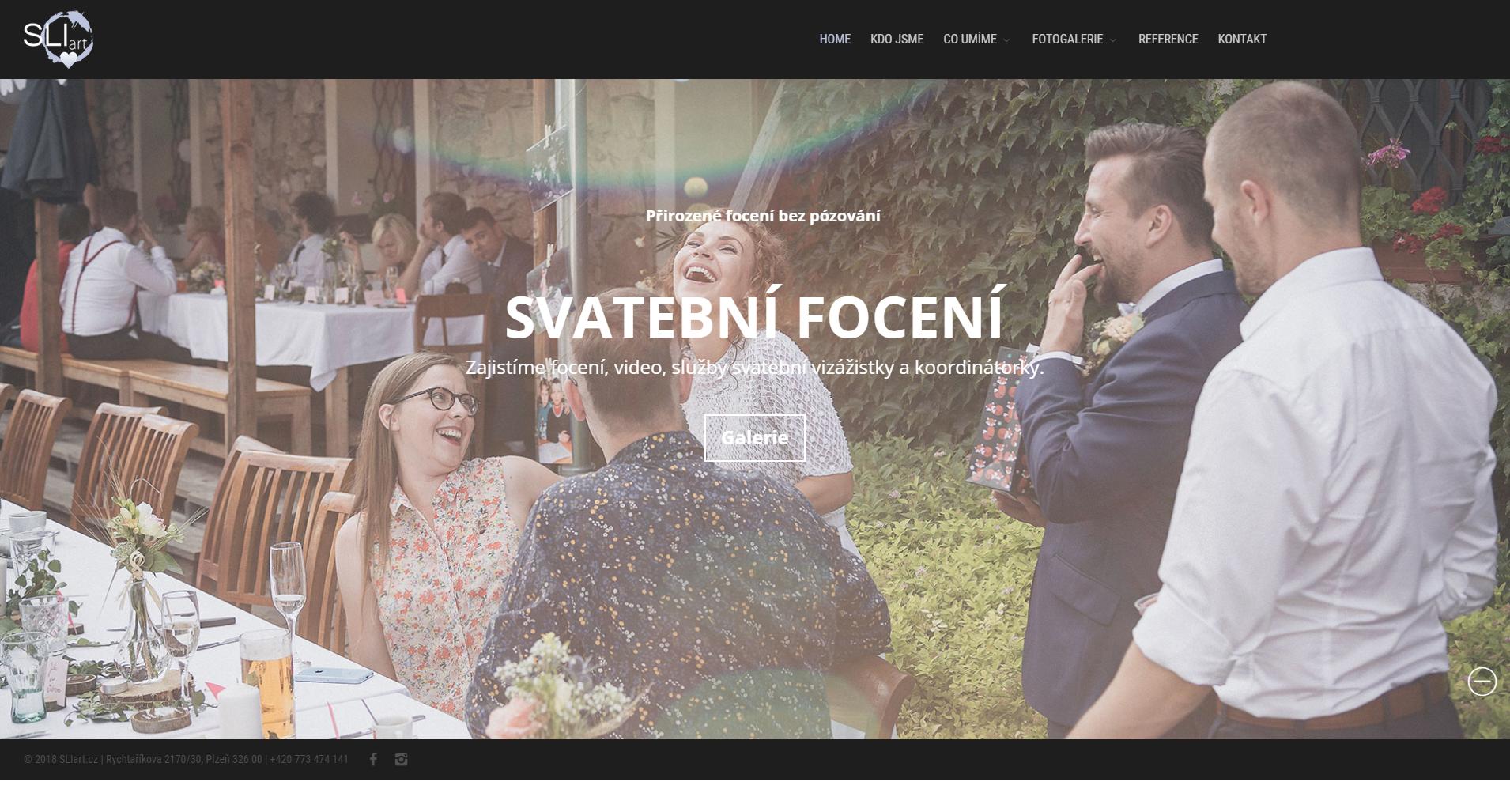 SLIart.cz – focení, video, grafika, weby Plzeň