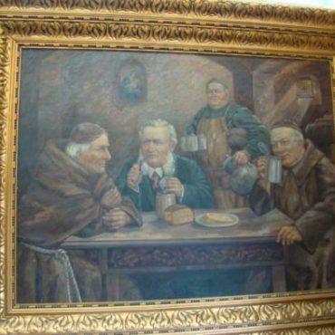 Prodej starožitných obrazů - obraz-s-hospodskym-motivem
