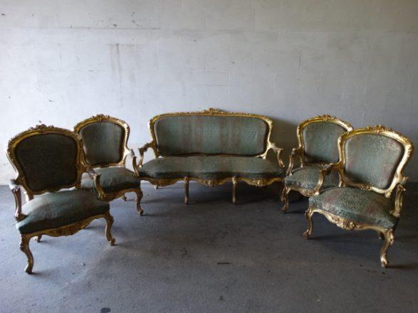 Prodej starožitností - zlacena-sedaci-souprava (2)