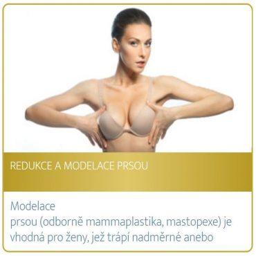 Redukce a modelace prsou
