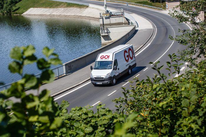 Skladování zboží v logistickém centru Praha - GO!