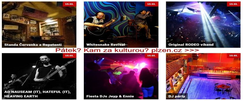 Kam za kulturou v Plzni