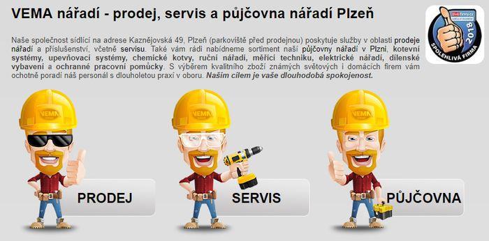 Prodej elektrického nářadí - akční nabídky v Plzni