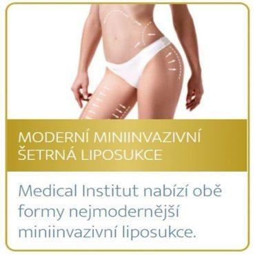 Moderní miniinvazivní šetrná liposukce