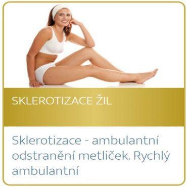 Sklerotizace žil