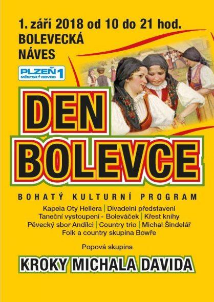 DEN BOLEVCE - Akce v Plzni - Bolevci