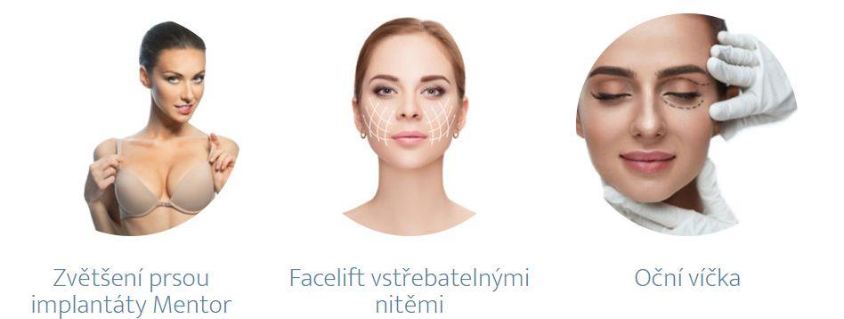 Plastická chirurgie Plzeň - nejvyhledávanější zákroky