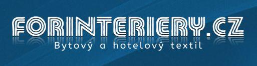 Forinteriery e-shop s bytovým a hotelovým textilem