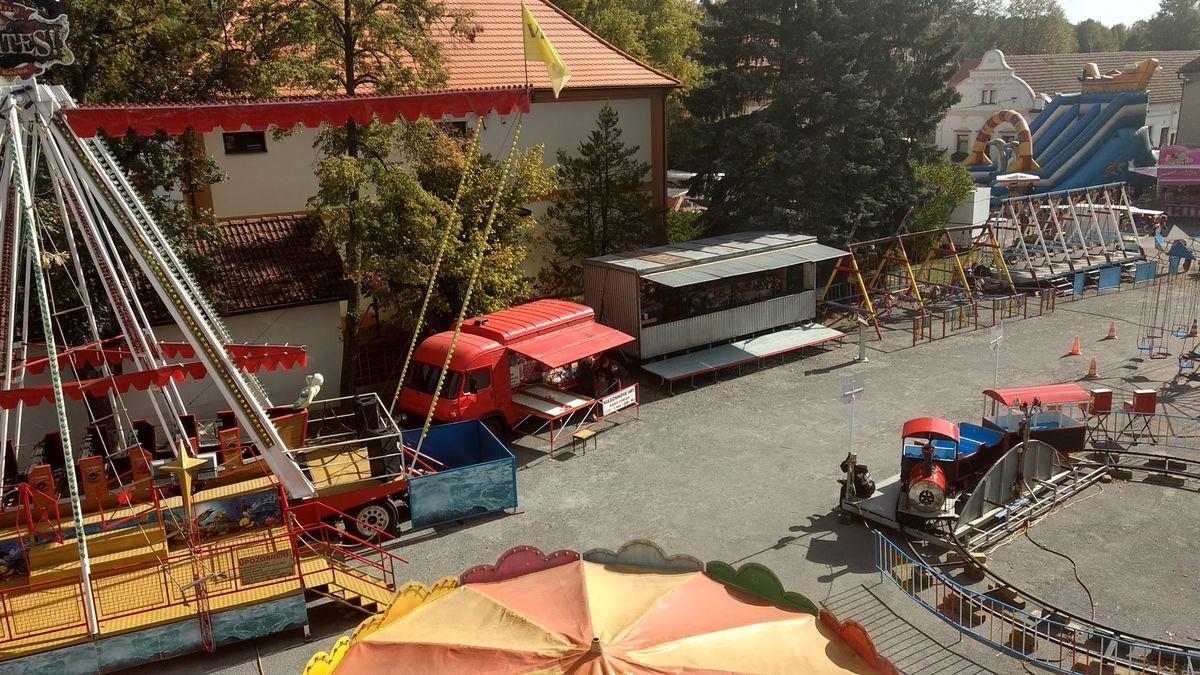 Pouť ve Dnešicích u Plzně akce pro děti Plzeň Jih