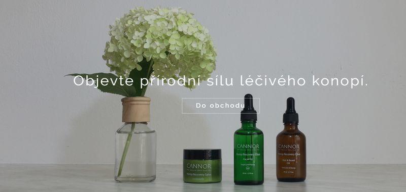 CANNOR - ruční výroba a prodej konopné kosmetiky s konopným olejem
