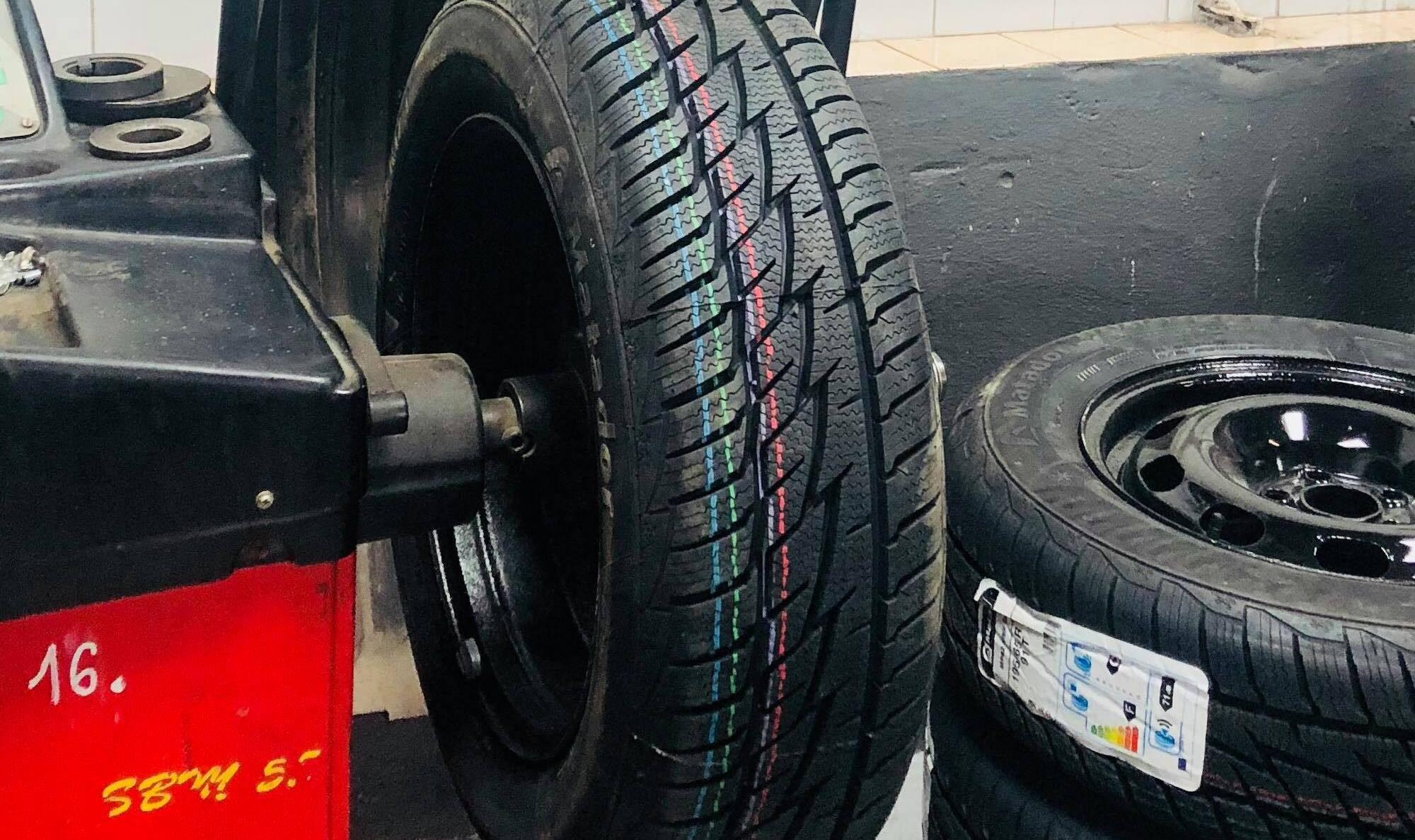 Přezouvání pneumatik Plzeň Bolevec