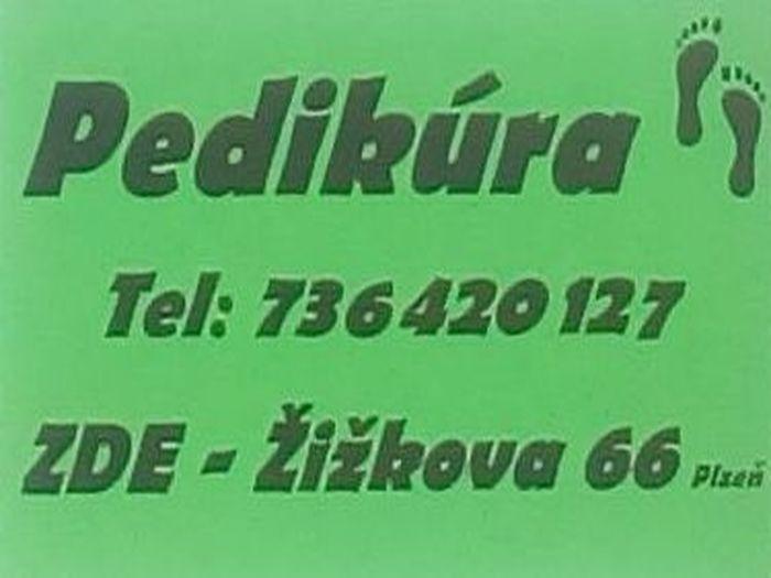 Pedikúra - Jana Urbánková v Plzni na Borech