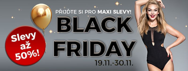 Black Friday Plzeň 2018 - slevové akce