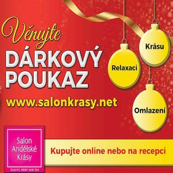 Dárkový poukaz pro ženy - vhodný vánoční dárek pro Vaši ženu od Medical Institutu Plzeň i ze Salonu Andělské krásy v Plzni