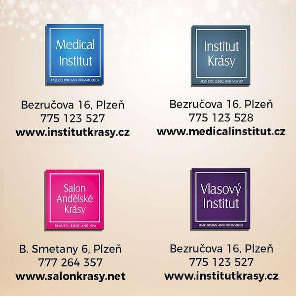 Dárkový poukaz - vhodný vánoční dárek pro ženy od Medical Institutu Plzeň i ze Salonu Andělské krásy v Plzni