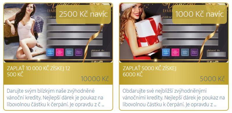 Nejlepší dárek je poukaz na libovolnou částku k čerpání. Je opravdu z čeho vybírat - platí nejen pro Plzeň