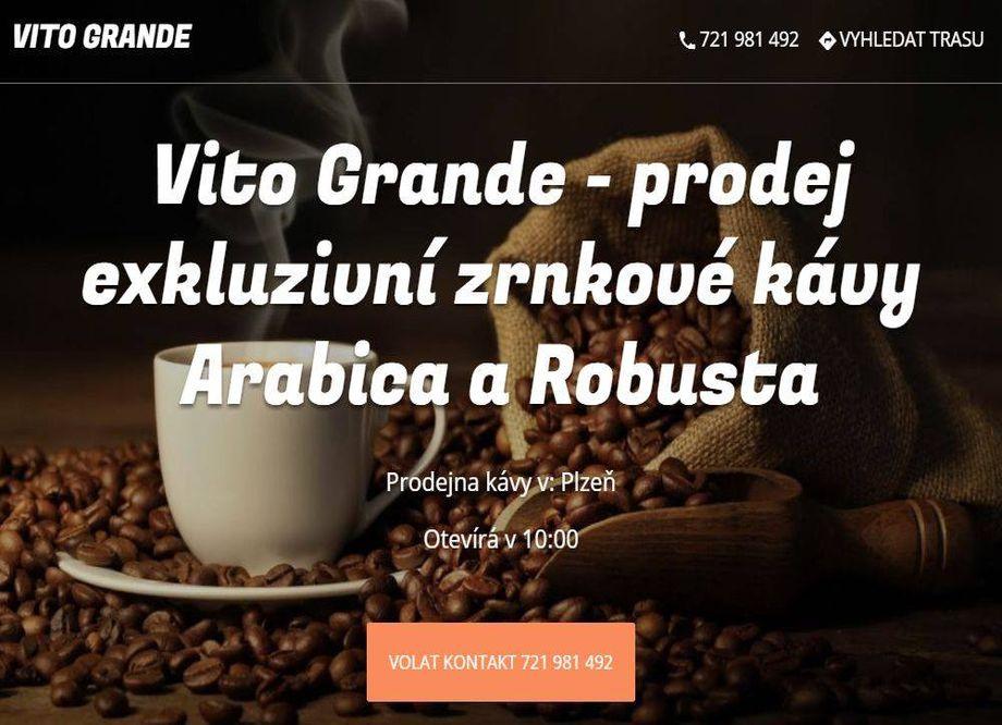 Prodej kávy - E-shop se zrnkovou kávou Plzeň