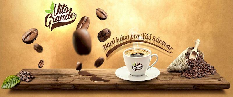 Prodej kávy - zrnková káva - vhodný vánoční dárek