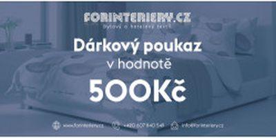 Prodej vánočních dárkových poukazů od eshopu Forinteriéry.cz - prodej bytového a hotelového textilu Plzeň