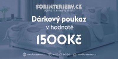 Prodej vánočních dárkových poukazů od eshopu Forinteriéry.cz - prodej bytového textilu