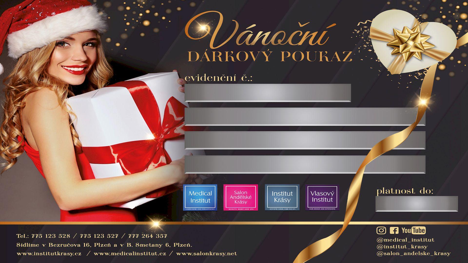 Prodej vánočních dárkových poukazů