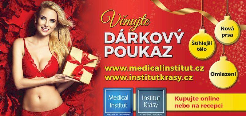 Vánoční dárek - dárkový vánoční poukaz od Medical Institutu Plzeň