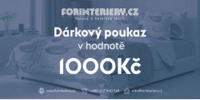 Vánoční dárkové poukazy od eshopu Forinteriéry.cz - prodejce bytového a hotelového textilu Plzeň