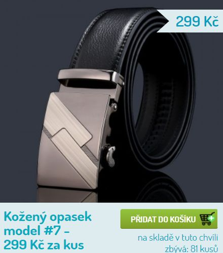 Prodej opasků v Plzni - v E-shopu