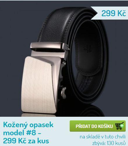 Prodej pánských kožených opasků v Plzni - v E-shopu
