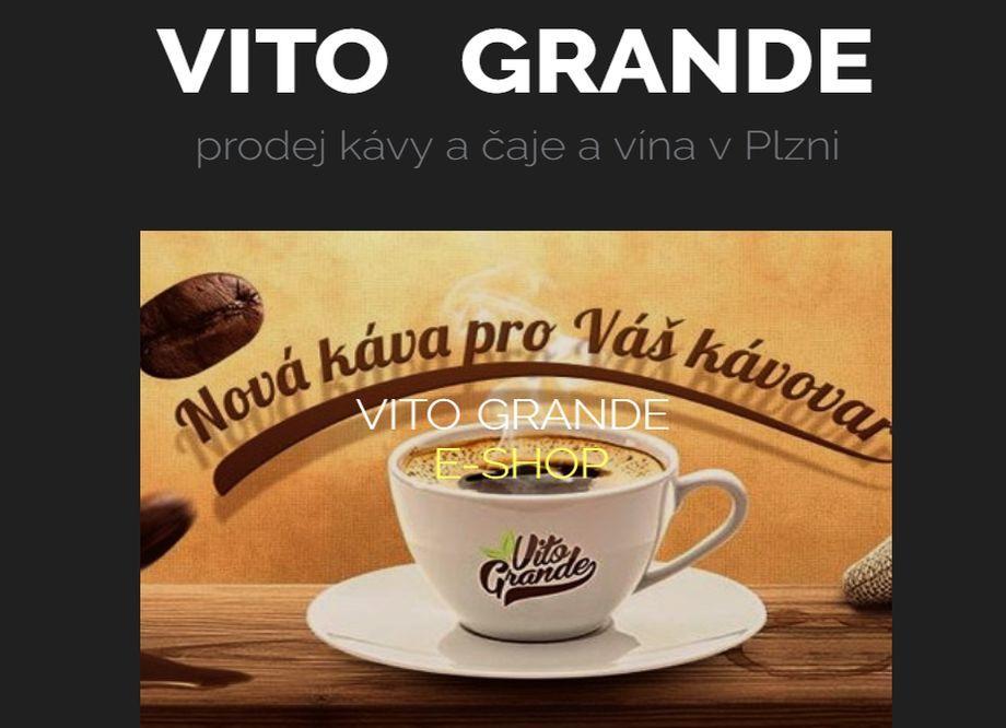 Prodej zrnkové kávy - E-SHOP SE ZRNKOVOU KÁVOU A ČAJEM