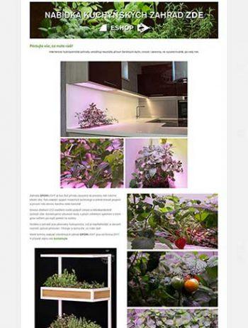 Prodej interiérových zahrad Growlight Plzeň