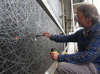 Malované opony - Jevistní technika Plzeň