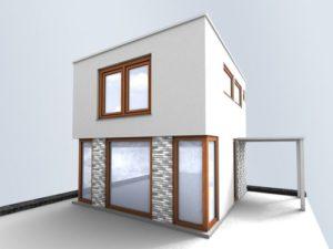 Zhotovení 3D vizualizace projektů v grafickém studiu AG25