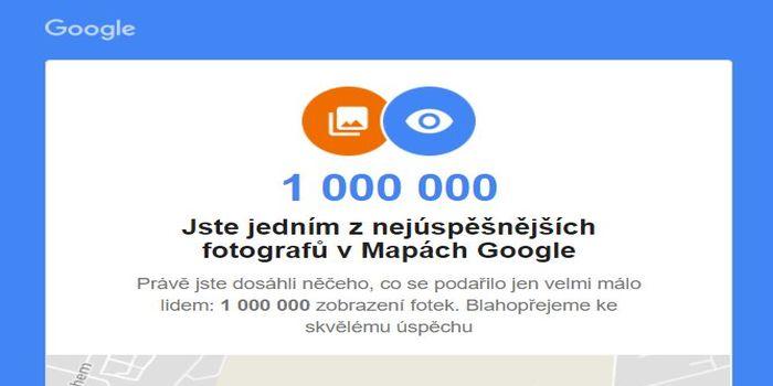 Fotograf Google - mapy Google firem, které spravujeme