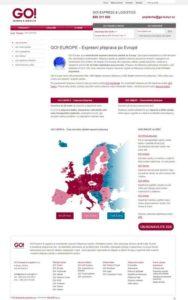 Expresní přeprava zásilek-po Evropě GO