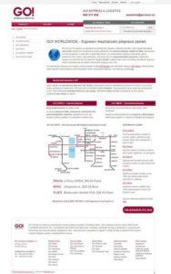 GO! Express & Logistics expresní přeprava zásilek