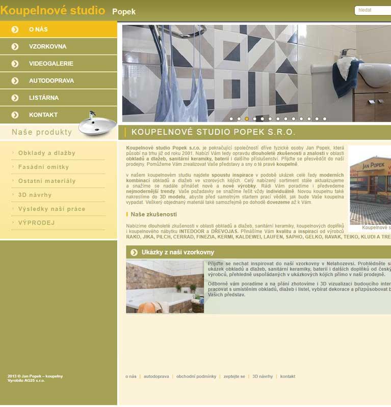 Návrhy a realizace koupelen Jan Popek