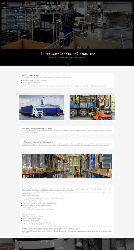SGL Logistic Europe předvýrobní a výrobní logistika