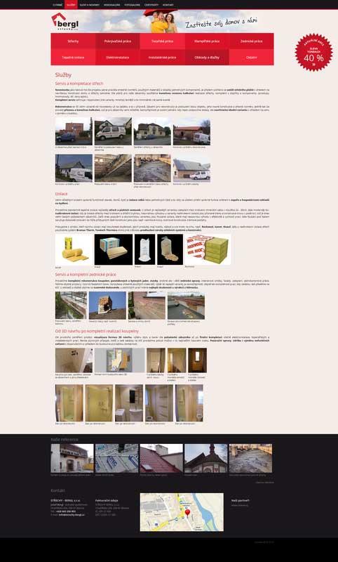 Střechy Bergl prodej a montáž střech