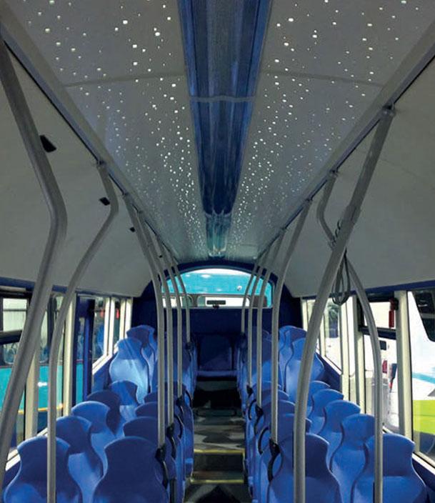 Široká škála interiérového osvětlení pro vozidla hromadné přepravy. - Nordex Europe