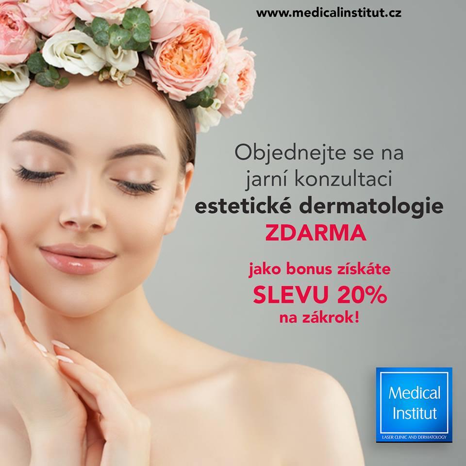 Akční nabídky estetické dermatologie v Plzni