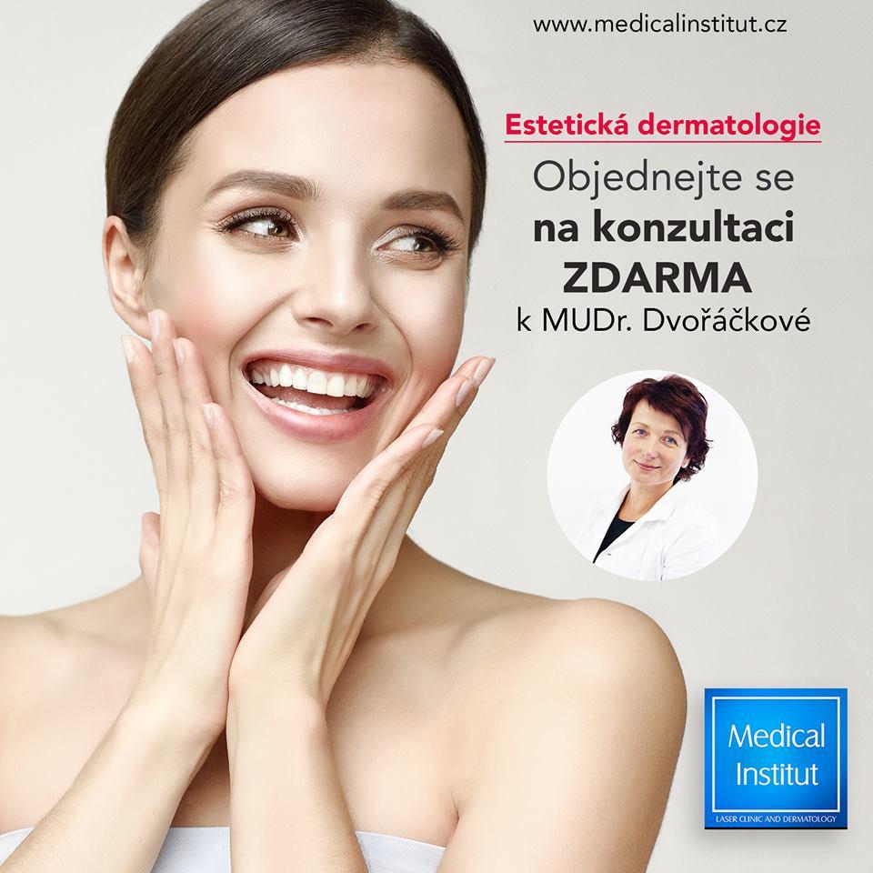 Konzultaci estetické dermatologie ZDARMA