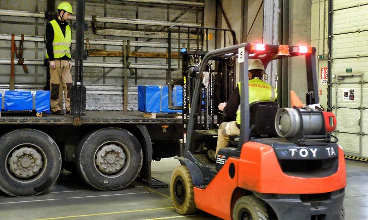 Předvýrobní a výrobní logistika SGL Europe logistika Plzeň