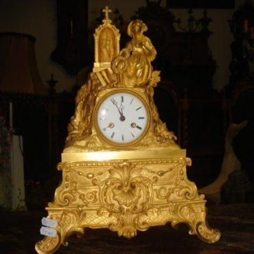 Prodej starožitných hodin -hodiny-krbove-zlacene