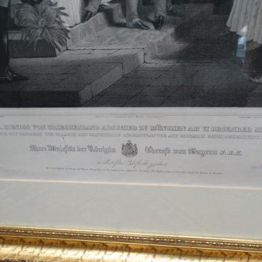 Prodej starožitných obrazů - grafika-ve-zlacenem-ramu